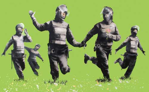 Banksy, Riot Coppers